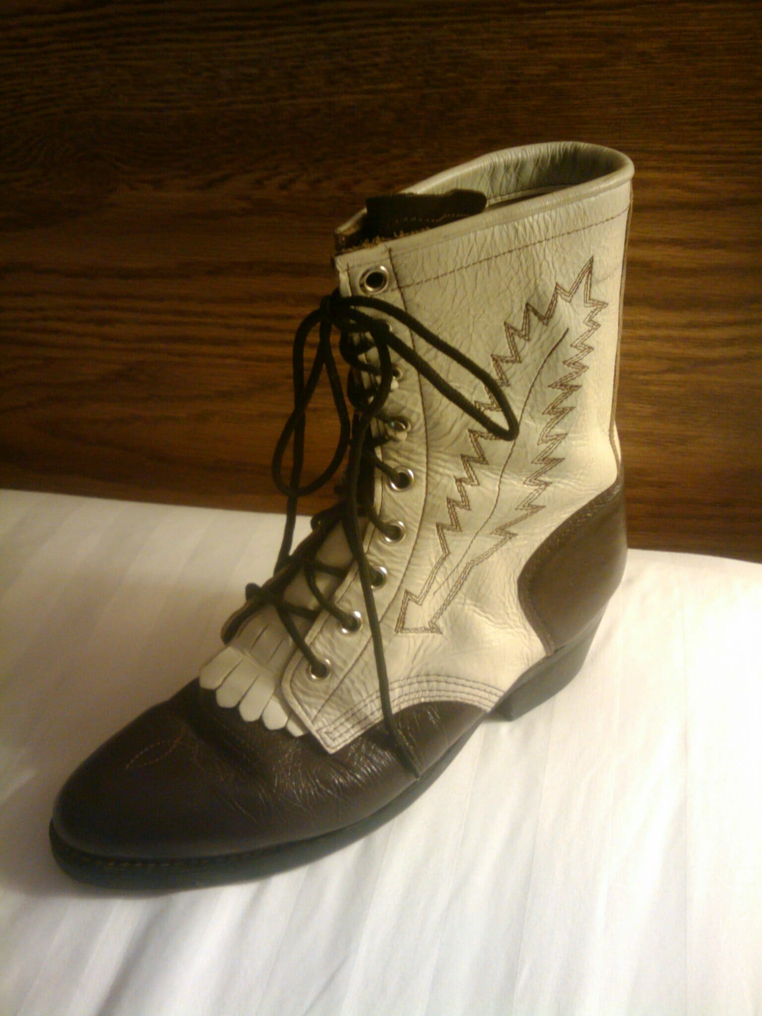Vintage Lacer Boot