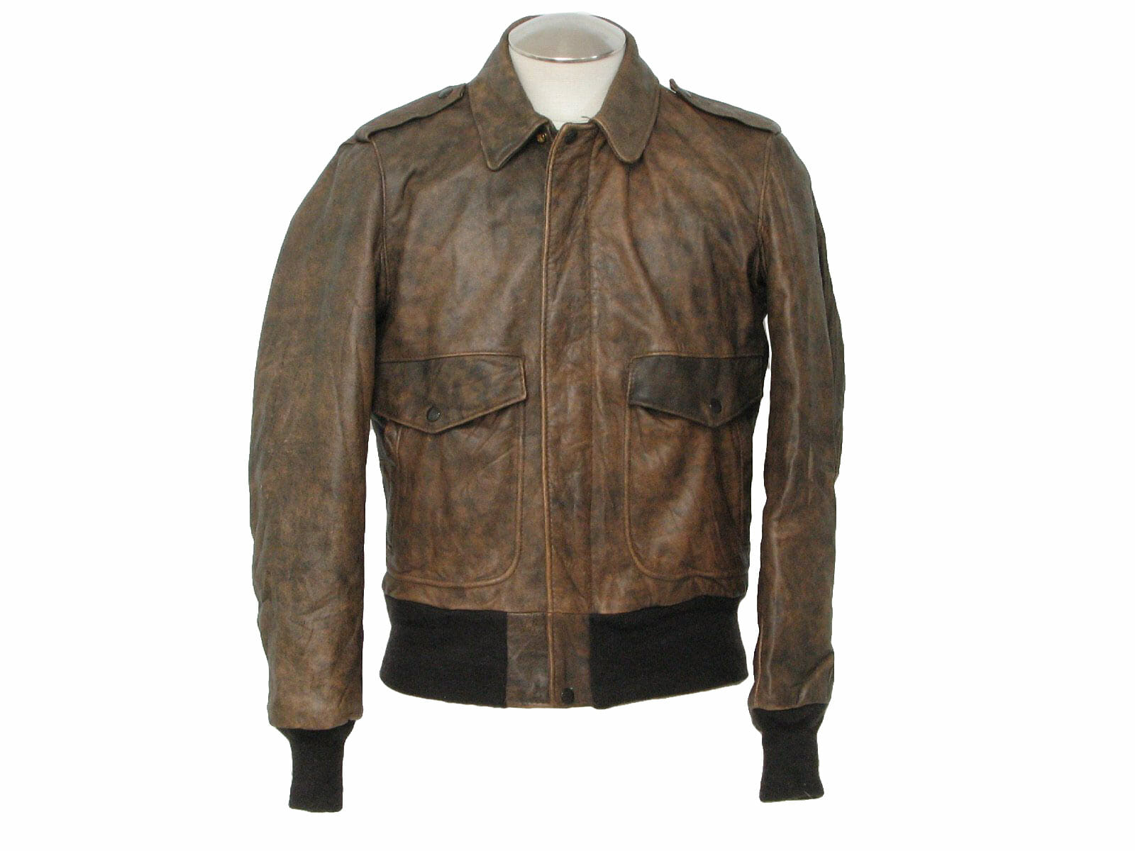 vintage leather bomber jacket | METROPOLIS VINTAGE N.Y.C.