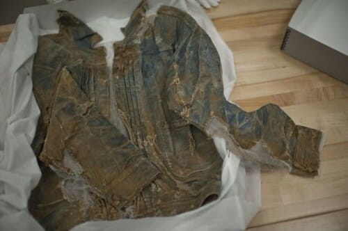 THE WORLD'S OLDEST DENIM JACKET, SURVIVING FROM THE 1880'S